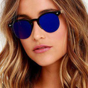 Spitfire Astro Blue Mirrored Sunglasses